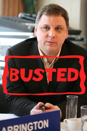 Mike Arrington TechCrunch busted